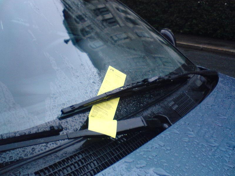 Trzymaj bilet parkingowy przez 5 lat