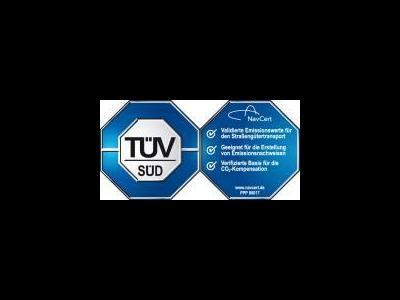 Software zur CO2-Emissionsberechnung zum Ersten  mit TÜV-Siegel ausgezeichnet