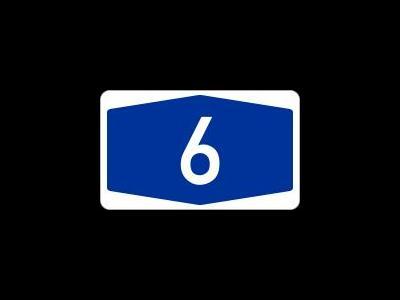 A6 wegen Bauarbeiten langfristig gesperrt