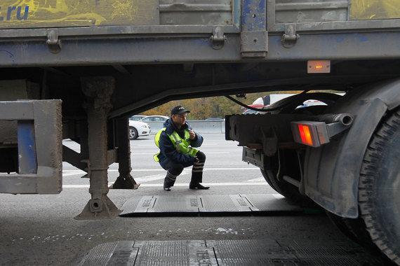 Росавтодор до конца года выберет оператора системы взвешивания грузовиков