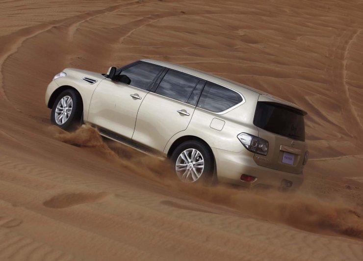 Nissan Patrol 2010 (wideo)
