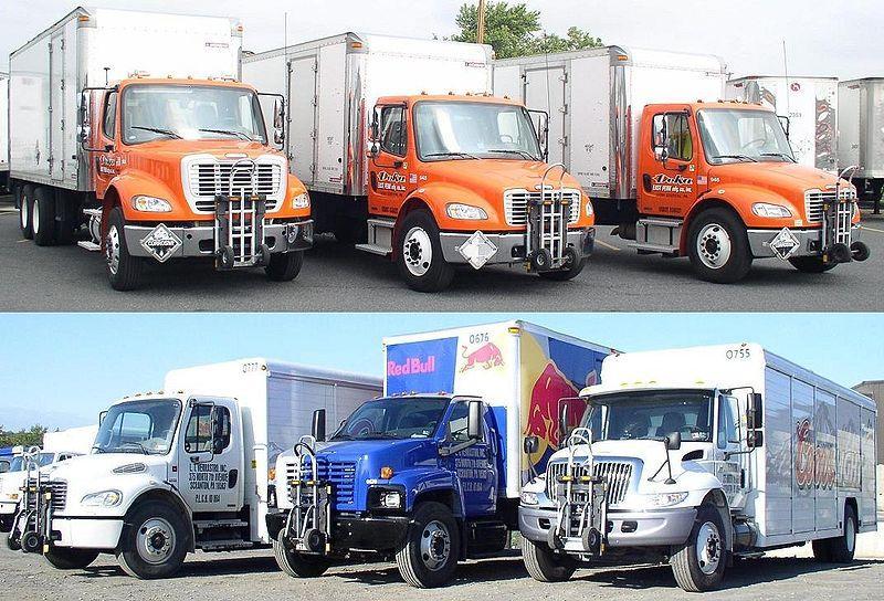 Euro vs ciężarówka