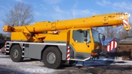 Skradziony 24-tonowy dźwig odnaleziony