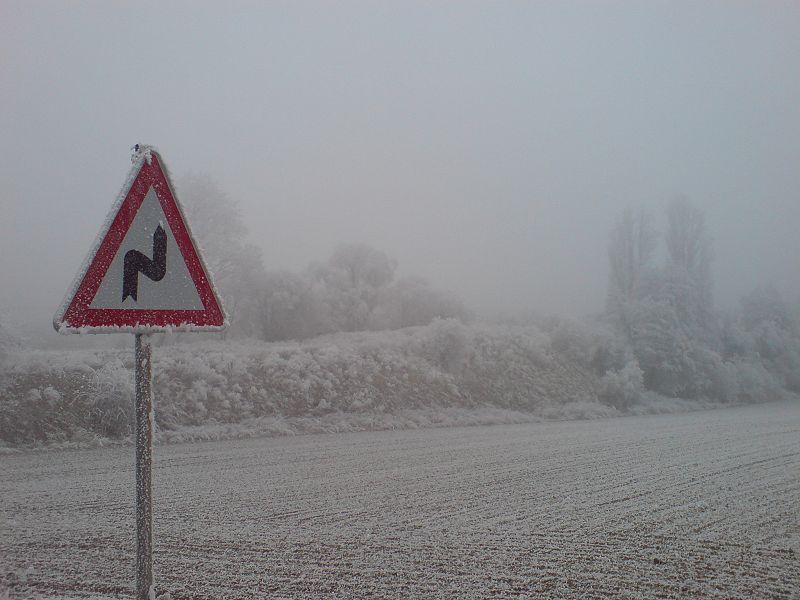 Francja również pod śniegiem