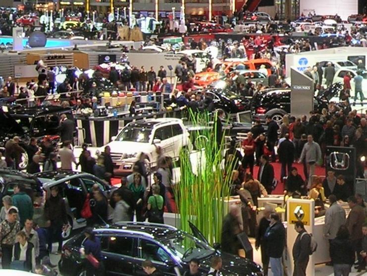 Targi motoryzacyjne Genewa 2010