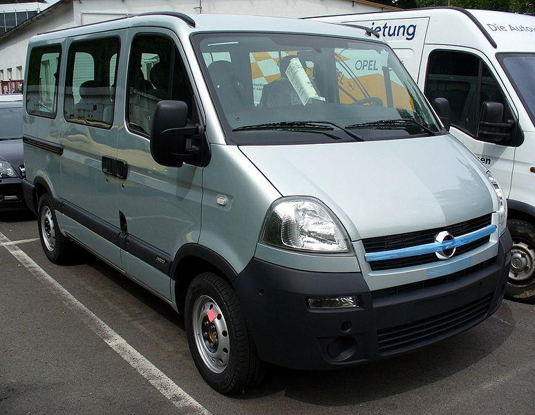 Nowy Opel Movano