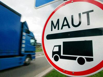 Transportgewerbe gegen Maut-Testlauf im Elsass