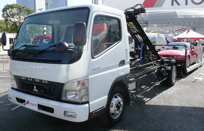 Mitsubishi Canter z EEV w standardzie