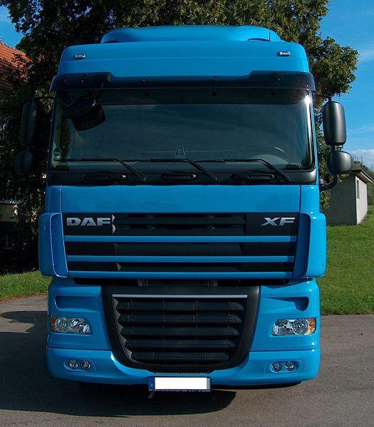 Katalog części zamiennych do ciężarówek DAF