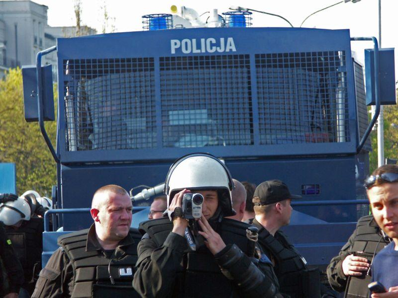 Strach policji przed motorem