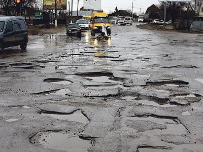 Pasirodo, patys blogiausi keliai – Ukrainoje