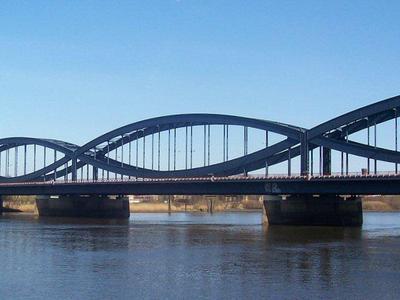 An der Elbe wird gebaut