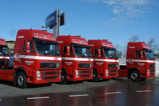 Volvo dla Pawtrans Holding
