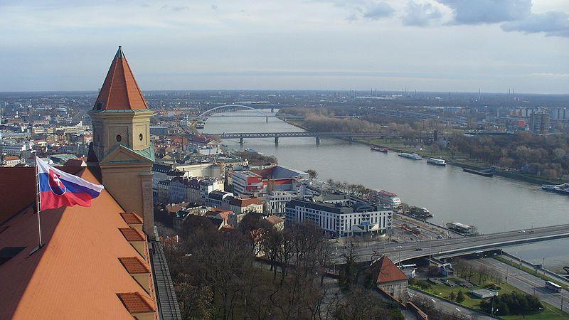 Słowackie ciężarówki blokują wjazd do Bratysławy