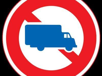 Europejskie zakazy ruchu samochodów ciężarowych (luty)