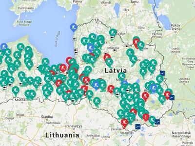 Внимание, ремонтные работы: ограничение движения по Латвии