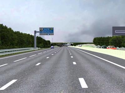 Asfaltare pe autostrada A1, Sebeș – Deva