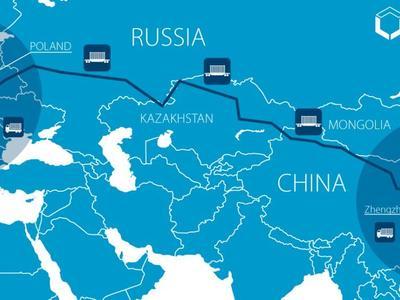 Krovininis geležinkelio maršrutas sujungs Lenkiją ir Kiniją