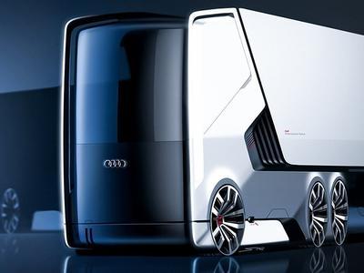 Ar tai bus hitas? Audi planuoja savo sunkvežimius!
