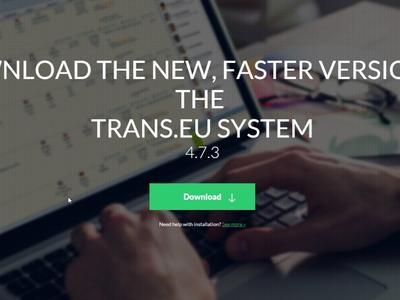 Îmbunătățim sistemul Trans.eu. Actualizați-vă programul