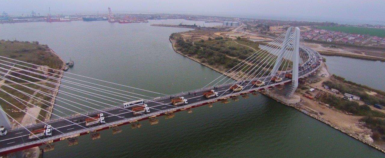 CNADNR menține restricția de tonaj pe podul Agigea