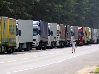 Сложности на белорусско-литовской границе. В очередях на выезд скопились 600 грузовиков