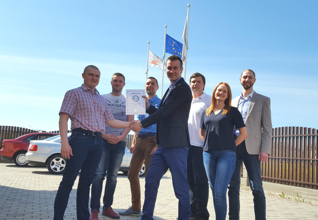 AV Logistic from Latvia now with TCF certificate!