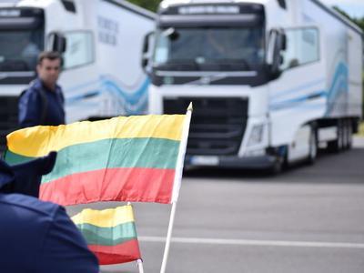 Lenkijoje ekonomiškiausiu Rytų Europos vilkiko vairuotoju pripažintas lietuvis