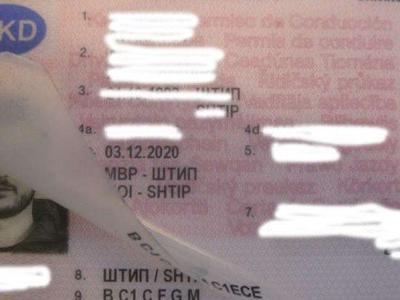 Так македонцы подделывают водительские права, чтобы ездить болгарскими тягачами по скандинавским странам