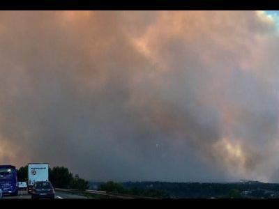 Серьезные проблемы с передвижением транспорта во Франция! Бушуют пожары и закрыты некоторые дороги