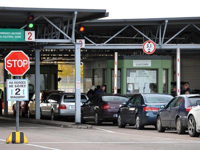 На КПП на границе Литвы с Калининградской областью вводятся временные ограничения