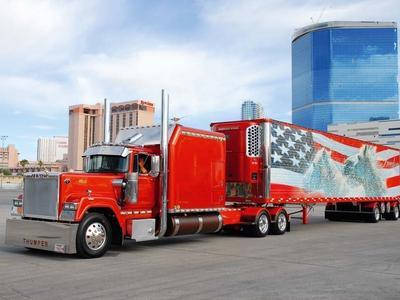 Cele mai frumoase camioane din Las Vegas (foto)