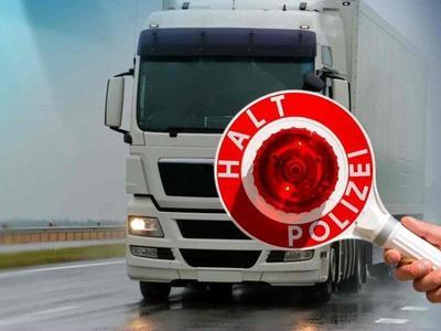 Zahlreiche Mängel bei Lastwagenkontrollen entdeckt