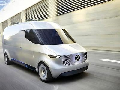 Vision Van – Daimlers Transporter der Zukunft