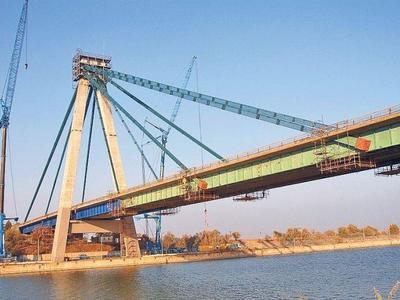 Podul de la Agigea, deschis circulației