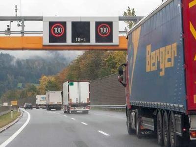 Sektorales Lkw-Fahrverbot in Tirol