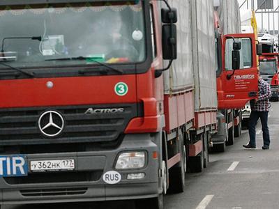 Россия отправит в Финляндию беспилотные грузовики