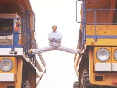 Białoruski kaskader chce pobić wyczyn Van Damme'a