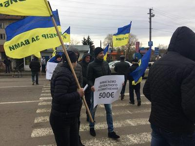 Дороги до границ со Словакией, Румынией и Польшей снова блокируют