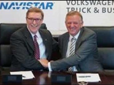 Jóváhagyták a Volkswagen Truck & Bus GmbH és a Navistar stratégiai szövetségét