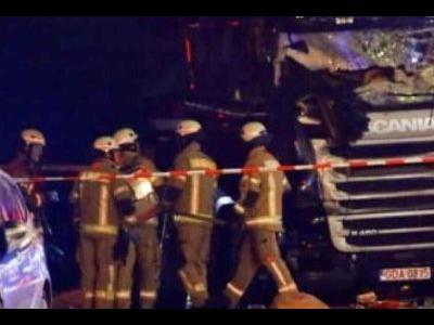 Polska ciężarówka użyta w zamachu w Berlinie wróciła do kraju. Właściciel jej nie chce