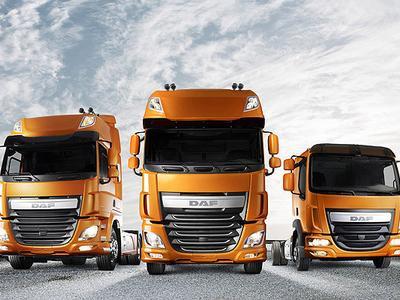 Każdego dnia w Polsce rejestrowanych jest ok. 120 pojazdów ciężarowych. Najczęściej wybieramy DAF-y…