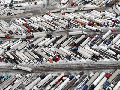 ЕС выделит миллионы евро на безопасные автостоянки для грузовых автомобилей – реализация проекта начнется уже в конце года