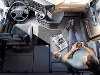 Od dzisiaj w Niemczech obowiązuje zakaz odpoczynku w kabinie ciężarówki!