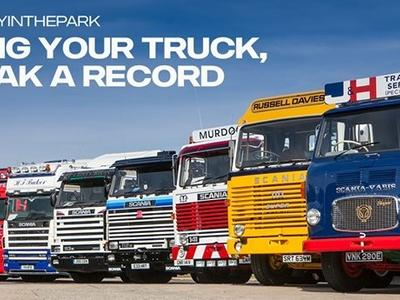 Scania хочет побить мировой рекорд по количеству автомобилей на слёте – чтобы это произошло, нужно 400 грузовиков