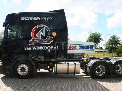 Scania S500 Longline с кабиной, удлинённой на 120 см – компания Van Winkoop показала первый готовый экземпляр