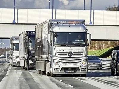 Через 10 лет искусственный интеллект будет управлять грузовым автомобилем