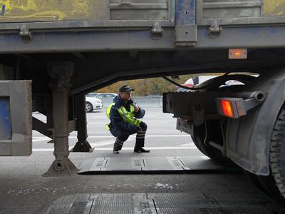 Украина. Ужесточенный контроль за весом грузовиков по всем регионам страны