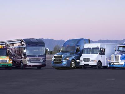 Не только Илон Маск создаёт электрический грузовой автомобиль. Daimler уже подготовил свой ответ