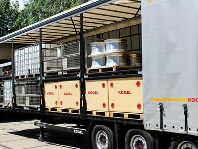 Двухуровневые полуприцепы Kögel перевозят даже 66 поддонов